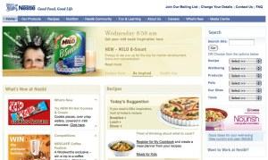 Nestle on Firefox